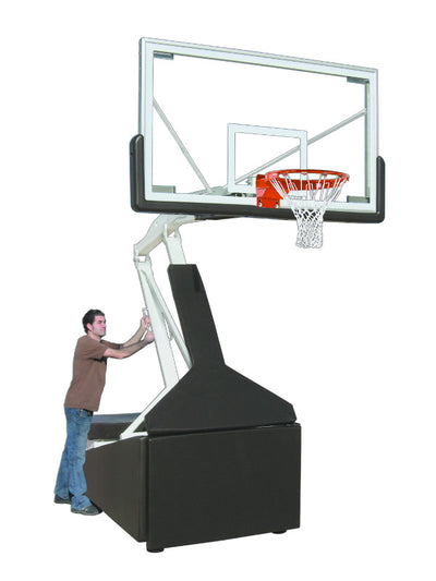 First Team Tempest Triumph Portable Adjustable Basketball Hoop 42'' x 72''