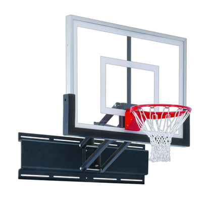 "First Team Uni-Champ III Wall Mount Adjustable Basketball Hoop 36""x 54"""
