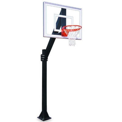 First Team Legend Jr. III BP Fixed Height Basketball Hoop