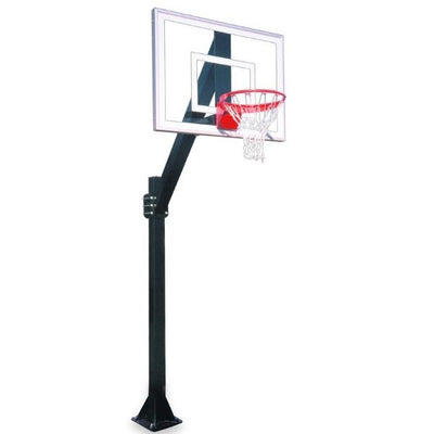 First Team Legend Jr. Ultra BP Fixed Height Basketball Hoop
