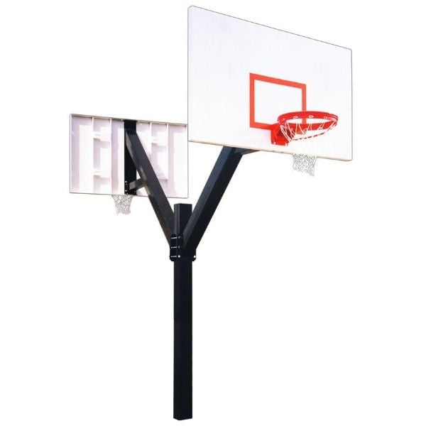 First Team  Legend Excel Dual Fixed Height Basketball Hoop
