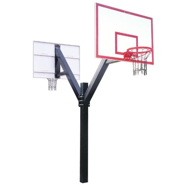 First Team Legend Dynasty Dual Fixed Height Basketball Hoop