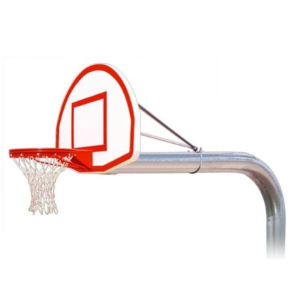 First Team Tyrant Max Fixed Height Basketball Hoop
