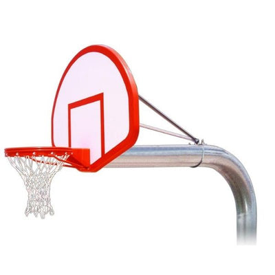 First Team Tyrant Flight Fixed Height Basketball Hoop
