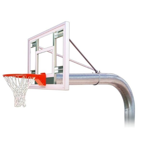 First Team Tyrant III Fixed Height Basketball Hoop