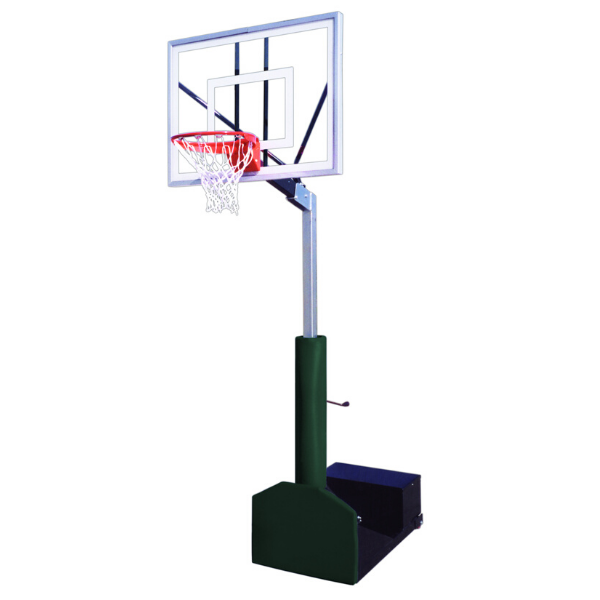 "First Team Rampage Turbo Portable Adjustable Basketball Hoop 36""x 54"""