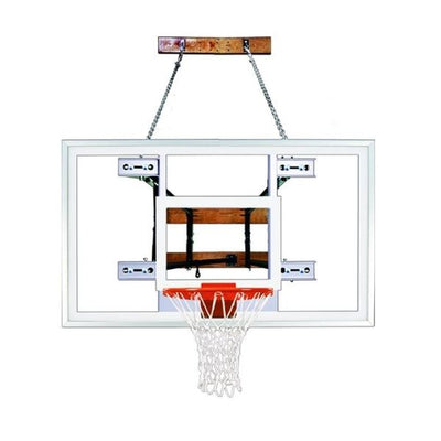 First Team FoldaMount82 Select Wall Mount Basketball Hoop