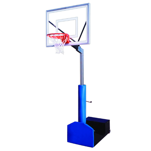 "First Team Rampage III Portable Adjustable Basketball Hoop 36""x 54"""