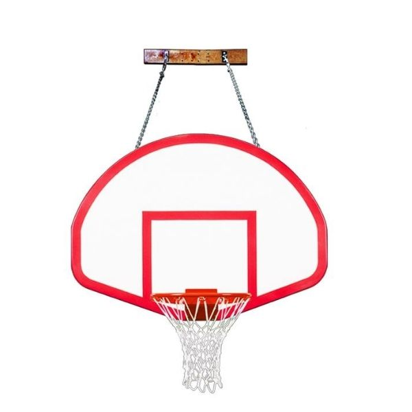 First Team FoldaMount82 Rebound Wall Mount Basketball Hoop