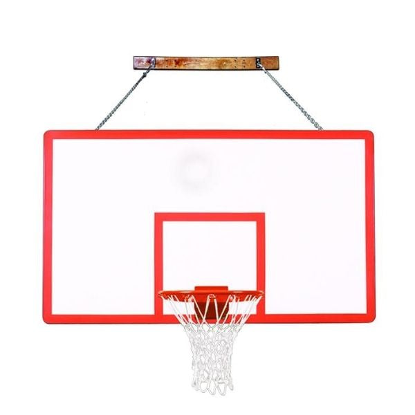 First Team FoldaMount82 Performance Wall Mount Basketball Hoop