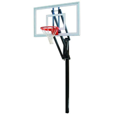 First Team Vector Select In Ground Adjustable Basketball Hoop