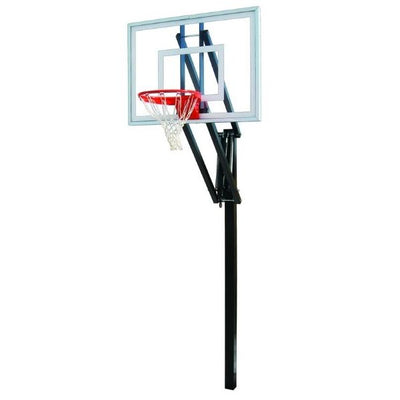 First Team Vector Turbo In Ground Adjustable Basketball Hoop