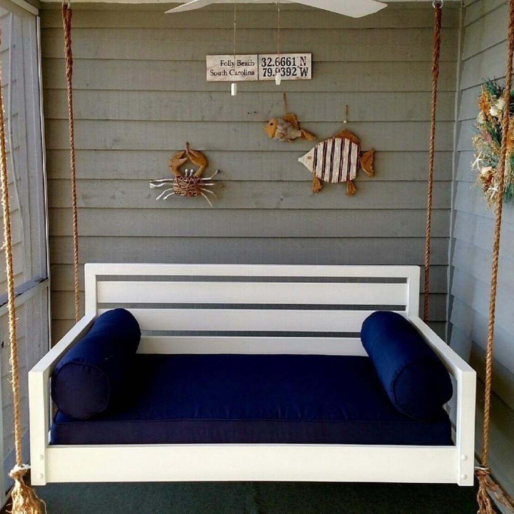 The Beautiful Beaufort Porch Swing Bed