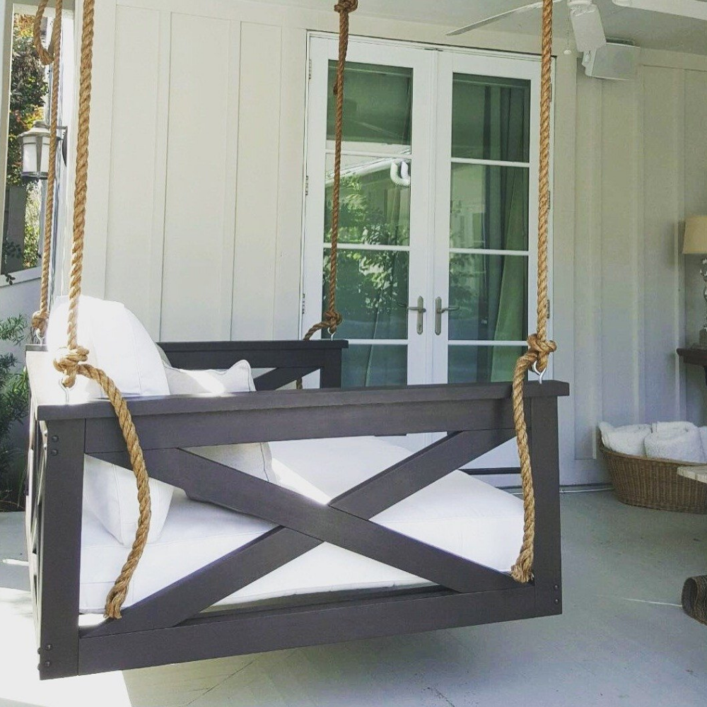 The Cooper River Porch Swing Bed