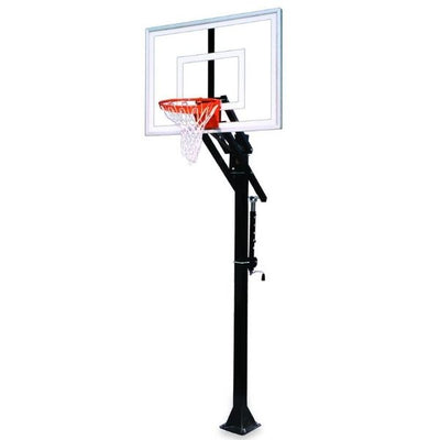 First Team Jam Turbo BP In Ground Adjustable Basketball Hoop