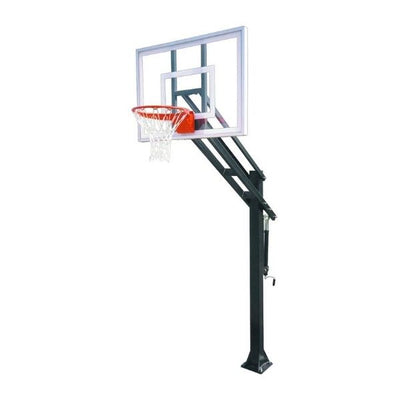 First Team Force III In Ground Adjustable Basketball Hoop