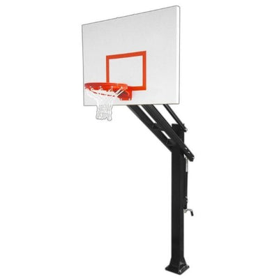 First Team Titan Impervia In Ground Adjustable Basketball Hoop