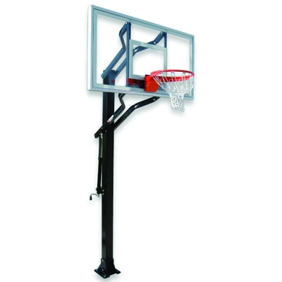 First Team Powerhouse Challenger Select In Ground Adjustable Basketball Hoop