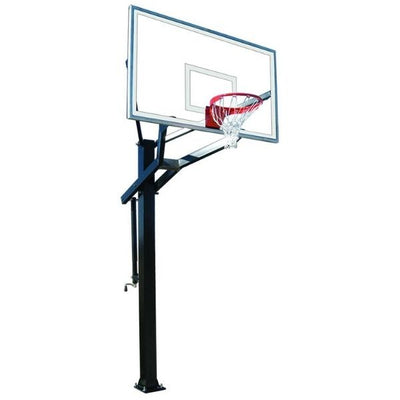 First Team PowerHouse 672 In Ground Adjustable Basketball Hoop