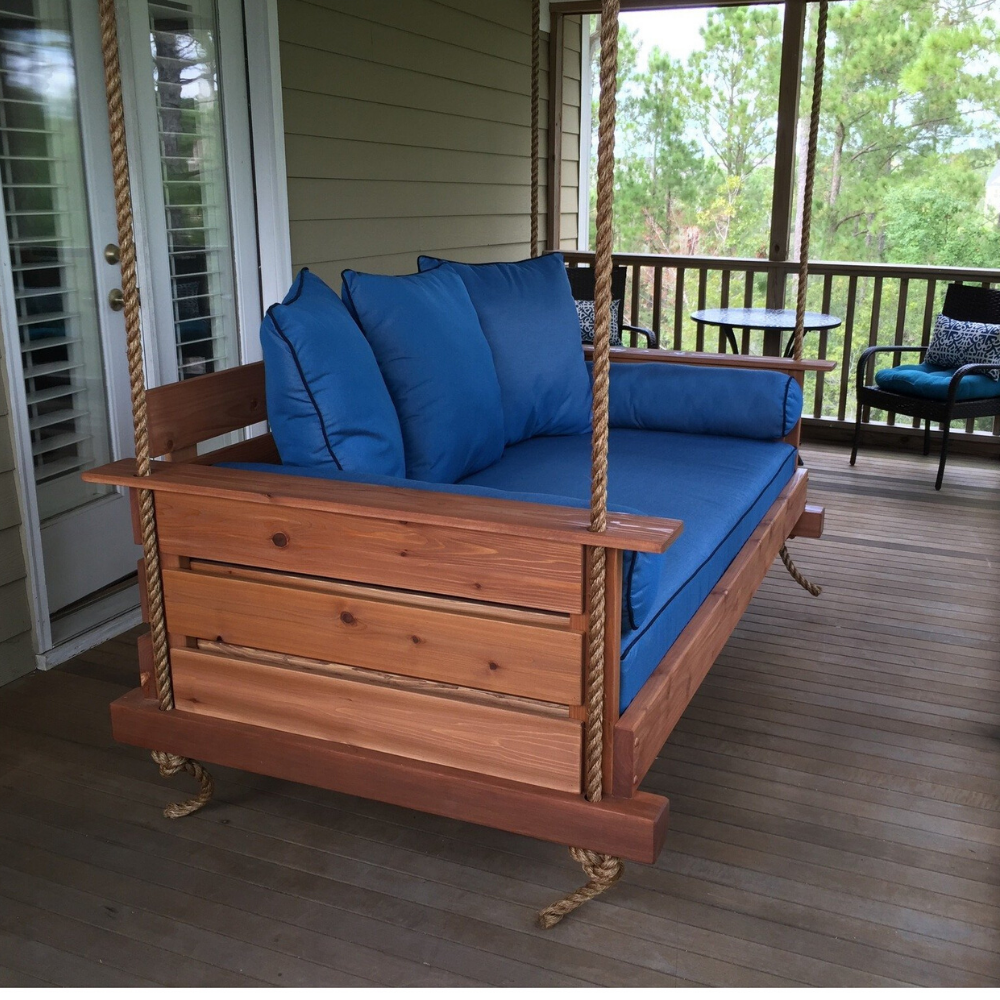The Midtown Porch Swing Bed