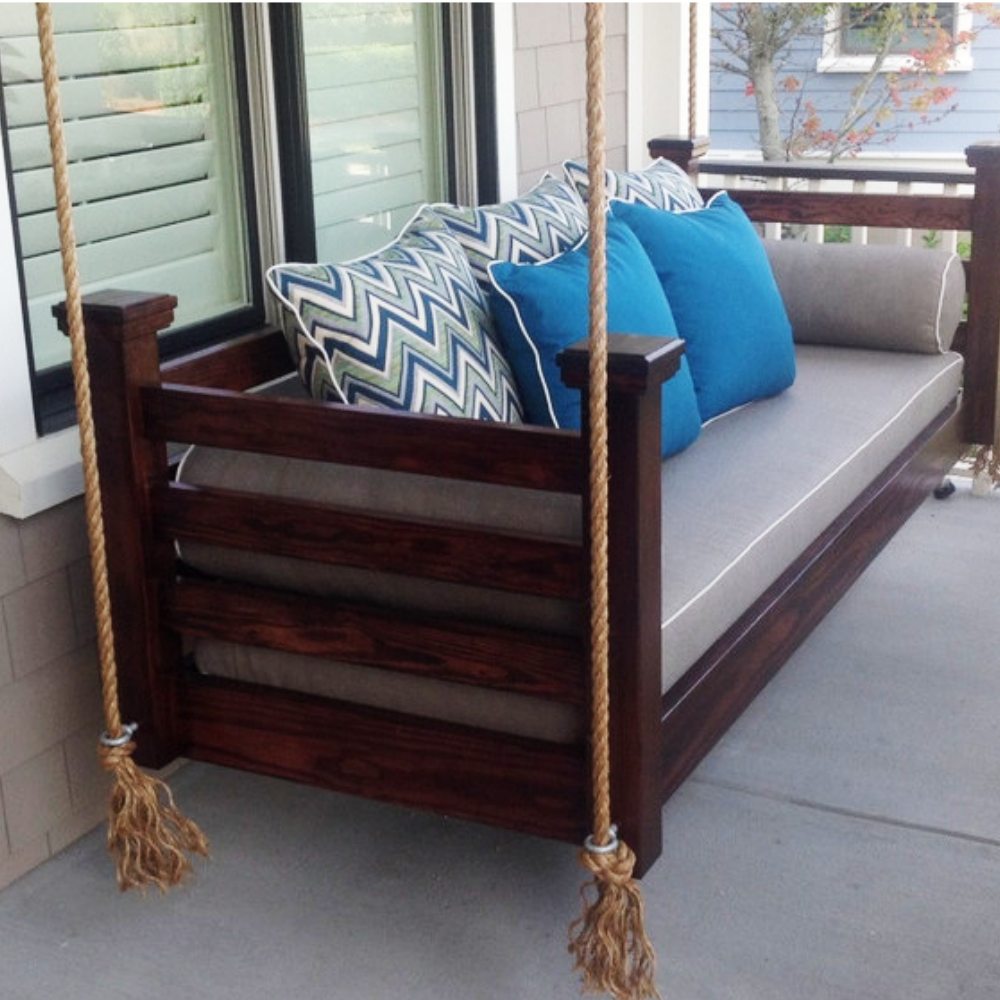 Daniels Island Porch Swing Bed