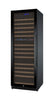 Image of Allavino FlexCount Series 172 Bottle Dual Zone Wine Refrigerator with Black Door & Left Hinge - Swings and More