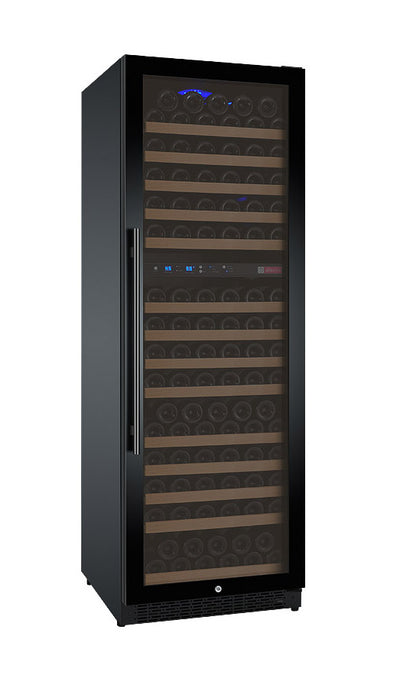 Allavino FlexCount Series 172 Bottle Dual Zone Wine Refrigerator with Black Door & Right Hinge VSWR172-2BWRN - Swings and More