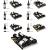 "Image of Allavino FlexCount Series 15"" 30-Bottle Single Zone Wine Refrigerator - Black - Swings and More"