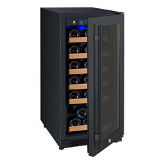 Allavino FlexCount Series  30-Bottle Dual  Zone Wine Refrigerator - Black