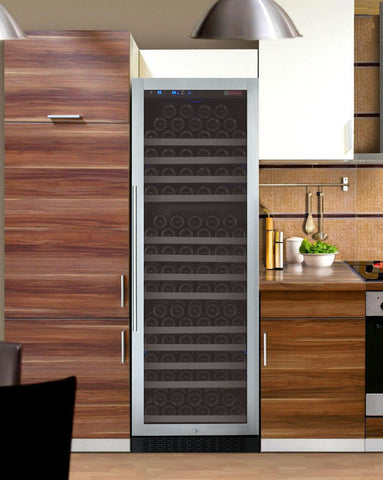 Image of Allavino FlexCount Series 177 Bottle Single Zone Wine Refrigerator with Right Hinge VSWR177-1SSRN - Swings and More