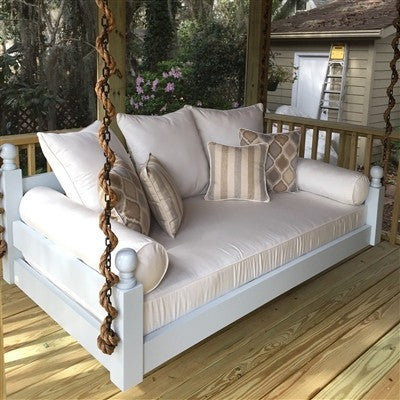 Stylish The West Ashley Porch Swing Bed - Swings and More