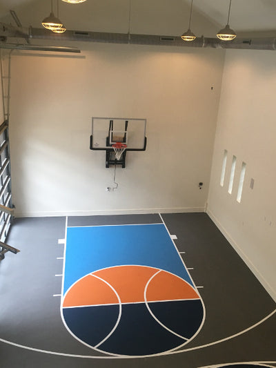 First Team WallMonster Playground Wall Mount Basketball Hoop