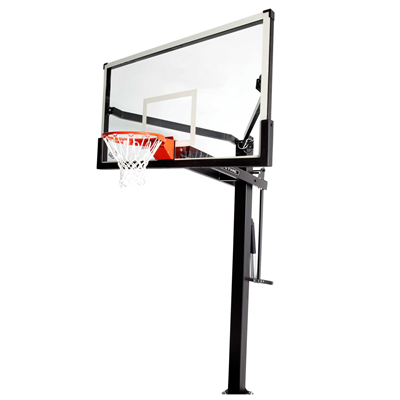 Lifetime Mammoth In-Ground Basketball Hoop 72 inch Tempered Glass - Swings and More