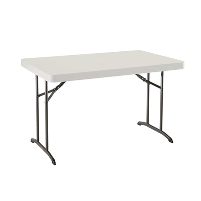 Lifetime 4-Foot Folding Table (Commercial) - Swings and More