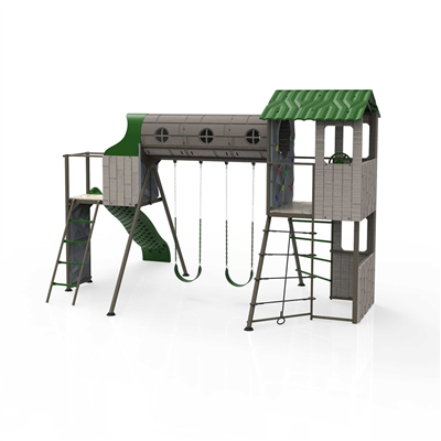 Lifetime Adventure Tunnel Playset - Swings and More