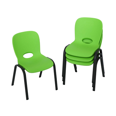 Lifetime Childrens Chair 4pk (Essential) Lime Green - Swings and More