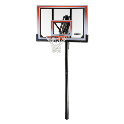 Lifetime Adjustable In-Ground Basketball Hoop 50-Inch Polycarbonate - Swings and More