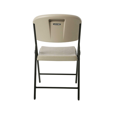 Lifetime Classic Folding Chair (Commercial) Putty 4pk. - Swings and More