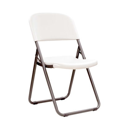 Lifetime Folding Chair With Loop Leg - White Granite 4pk - Swings and More