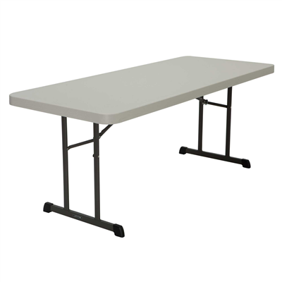 Lifetime 6-Foot Folding table - Almond - Swings and More