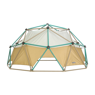 Lifetime Geo Dome Climber (Earthtone w/ Canopy) - Swings and More