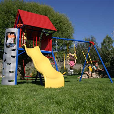 Lifetime A-Frame Playset (Primary) - Swings and More