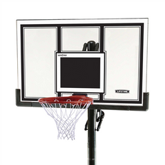 Lifetime Adjustable In-Ground Basketball Hoop 54-Inch Polycarbonate