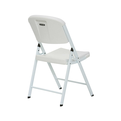Lifetime Classic Folding Chair (Commercial) White - Swings and More