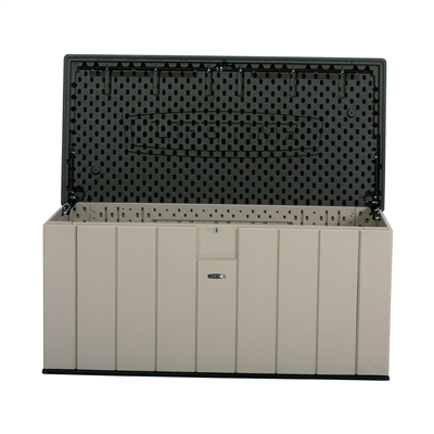 Lifetime Heavy-Duty 150 Gallon Outdoor Storage Deck Box - Swings and More