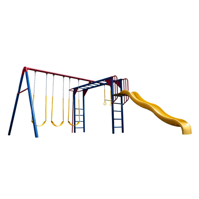 Lifetime Monkey Bar Adventure Swing Set (Primary) - Swings and More