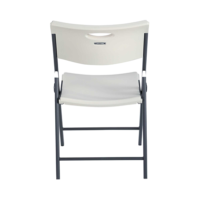 Lifetime Folding Chair (Commercial) - White Granite 4Pk - Swings and More