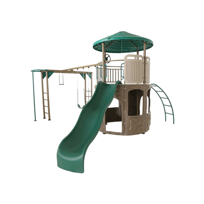 Lifetime Playset Adventure Tower Deluxe - Swings and More