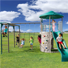 Image of Lifetime Adventure Tower Deluxe - Swings and More