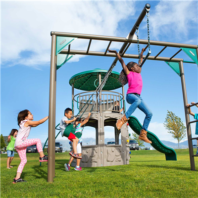 Lifetime Adventure Tower Deluxe - Swings and More